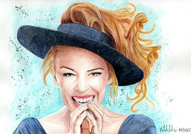 Kylie Minogue by micheleamadesi